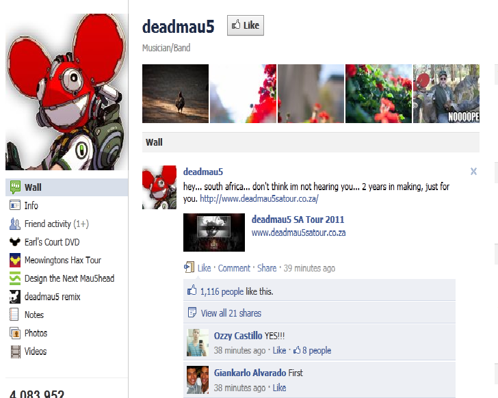 Deadmau5 is hitting South Africa this Summer!