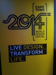 Meaning of Cape Town: New Design Capital 2014.