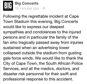 1 Fatality: Scaffolding Collapses at Linkin Park Concert…