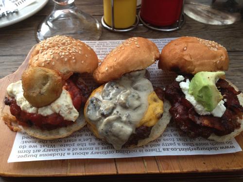 Hudson's Burger Joint Sliders