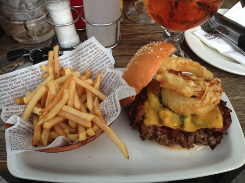 Hudson's Burger Joint Burgers